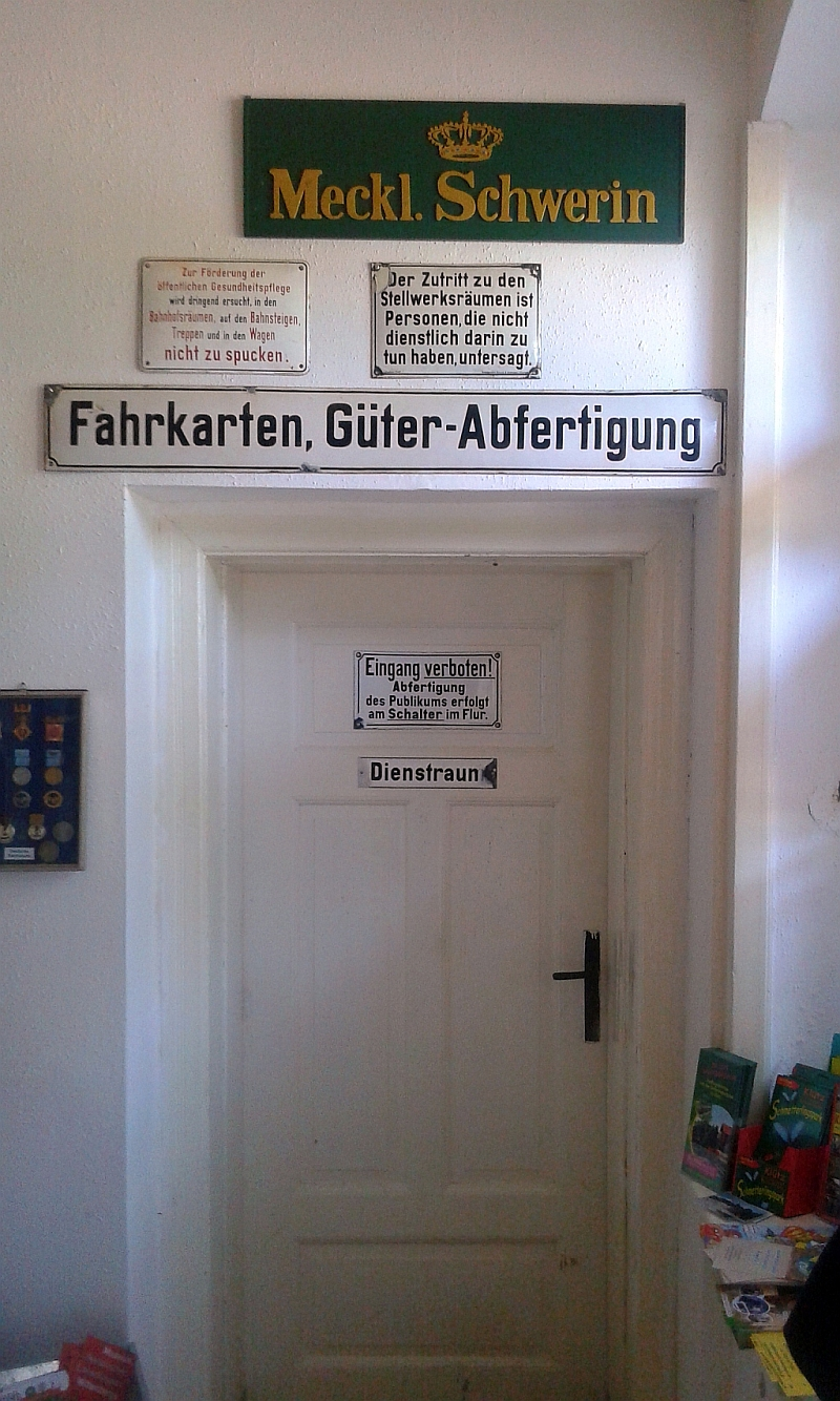 """Schmalspurbahn """"De lütt Kaffeebrenner"""" in Klütz (Mecklenburg-Vorpommern) 7a11"""