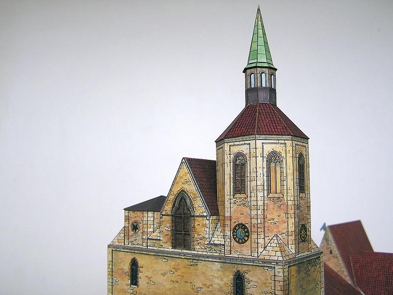 Magni-Kirche Braunschweig 1:175 Keddig-Verlag 810