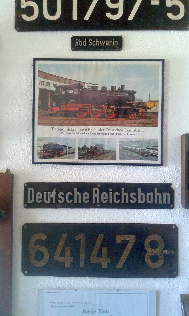 """Schmalspurbahn """"De lütt Kaffeebrenner"""" in Klütz (Mecklenburg-Vorpommern) 815"""