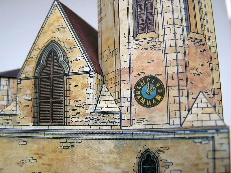 Magni-Kirche Braunschweig 1:175 Keddig-Verlag 910