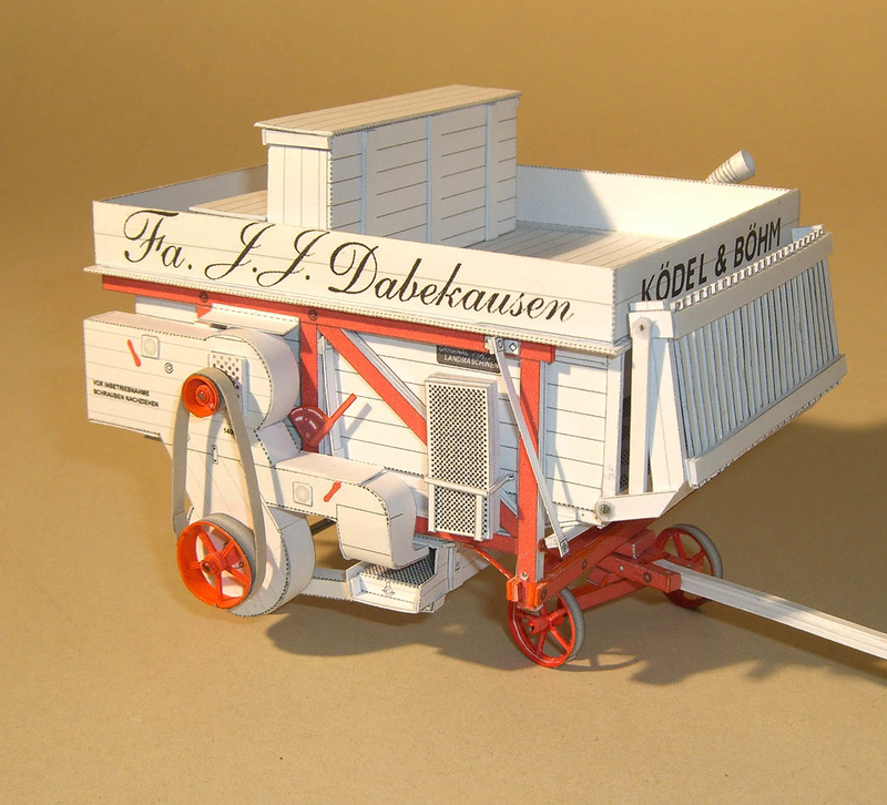 Dreschmaschine Eifel 1:32 von Hans-Joachim Zimmer Dors_l12
