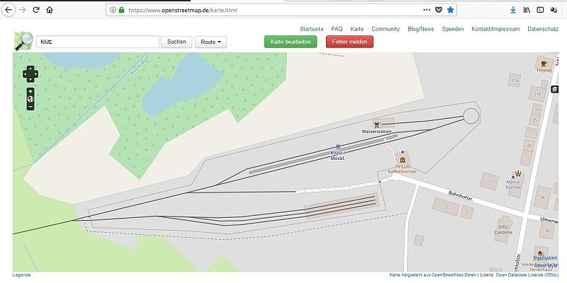 """Schmalspurbahn """"De lütt Kaffeebrenner"""" in Klütz (Mecklenburg-Vorpommern) Gleisp11"""