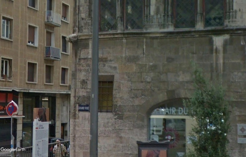Street View: Bâtiments déplacés Cabre210