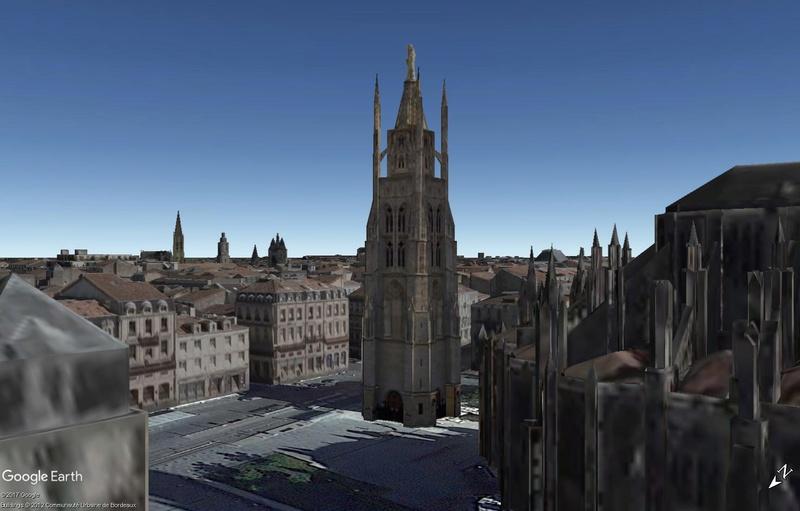 [résolu] Hauteur bâtiment 3d dans Google Earth Ex110