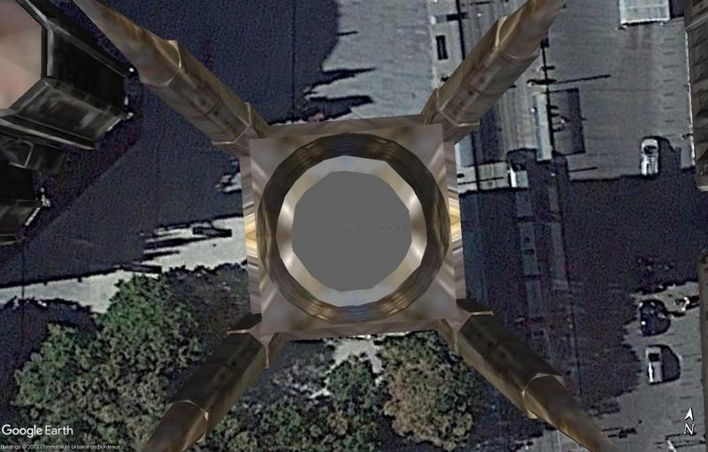 [résolu] Hauteur bâtiment 3d dans Google Earth Ex210