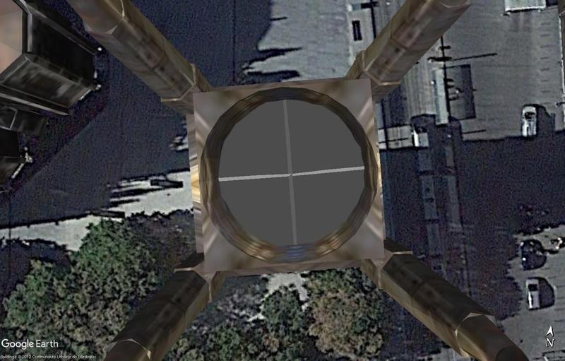 [résolu] Hauteur bâtiment 3d dans Google Earth Ex310