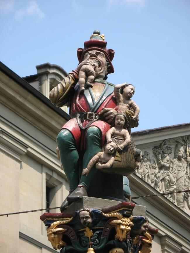 Fontaine de l'ogre, Berne - Suisse Ogre310
