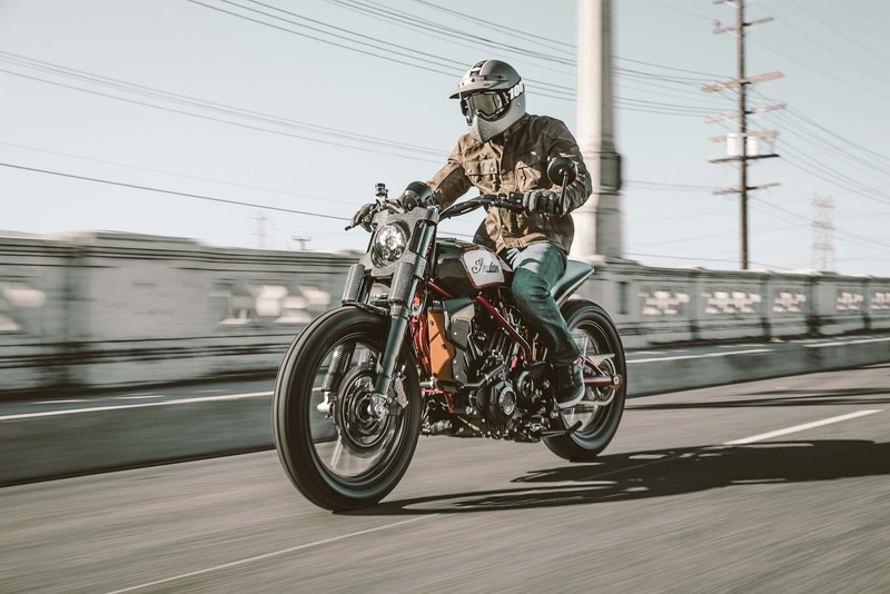Indian Scout FTR1200 Concept  Indian11