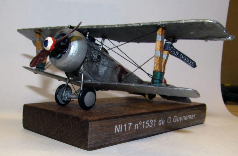 Nieuport NI17 de G. Guynemer - 1/72 - Full scratch 30_ni_10