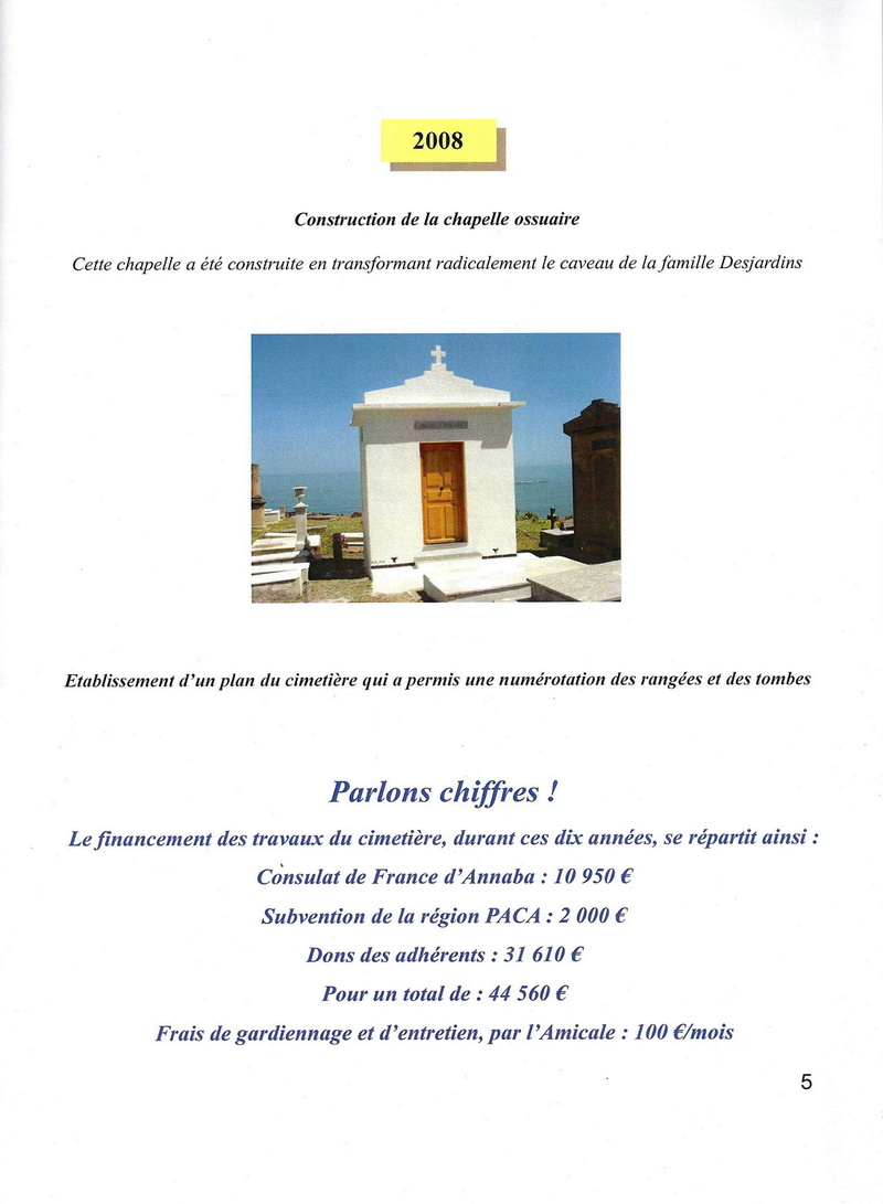 Les Travaux Réalisés en 2008 Cimeti12