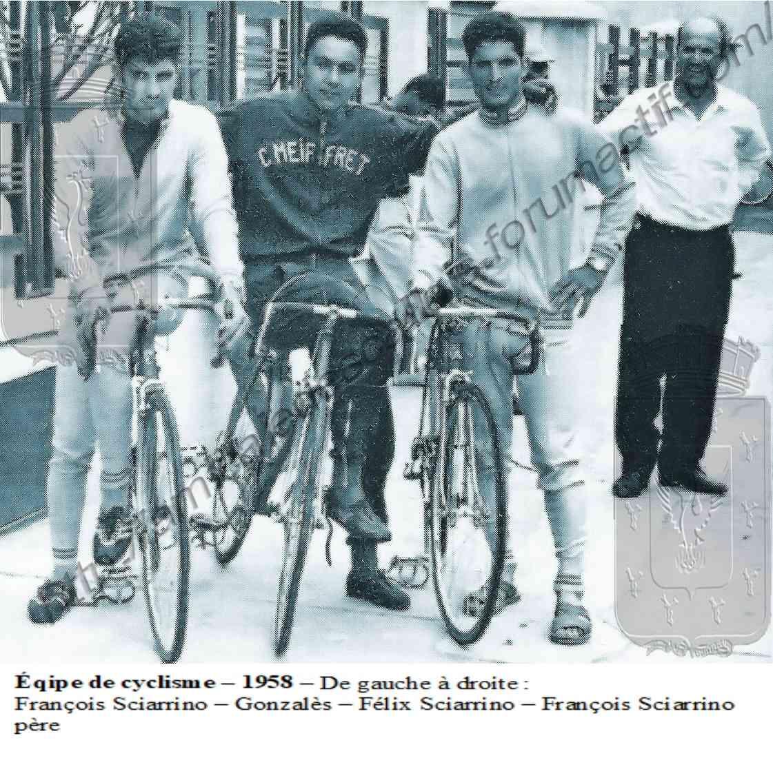 Cyclisme-1958 Cyclis10