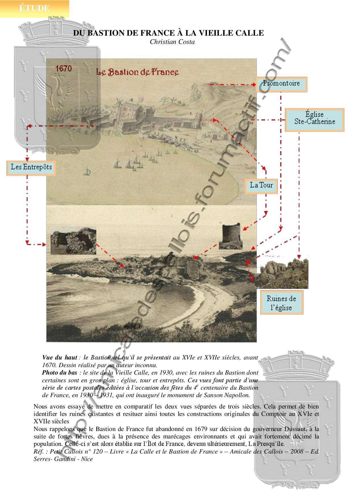 Du Bastion de France à la vieille Calle - COSTA Christian -PC131- Du_bas10