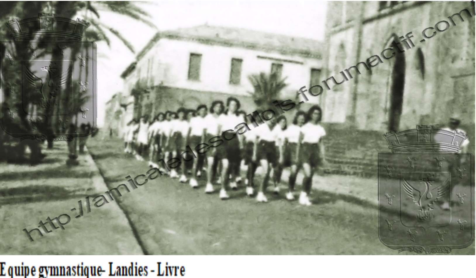 Equipe gymnastique- Landies - Livre- Equipe11