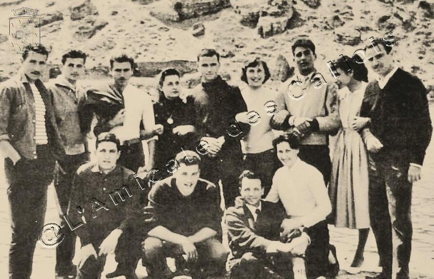 La bande des « Grands » - Années 1955-56  Groupe14