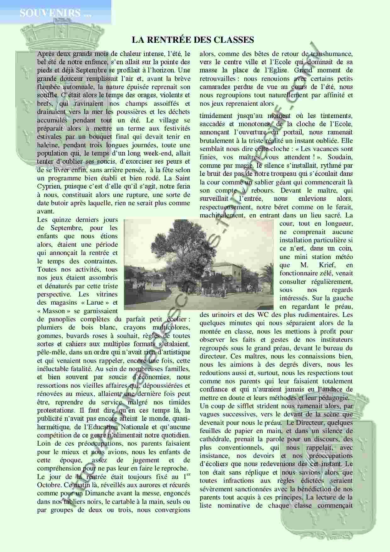 La Rentrée des classes - PC133 -Alexandre Bertot- La_ren10