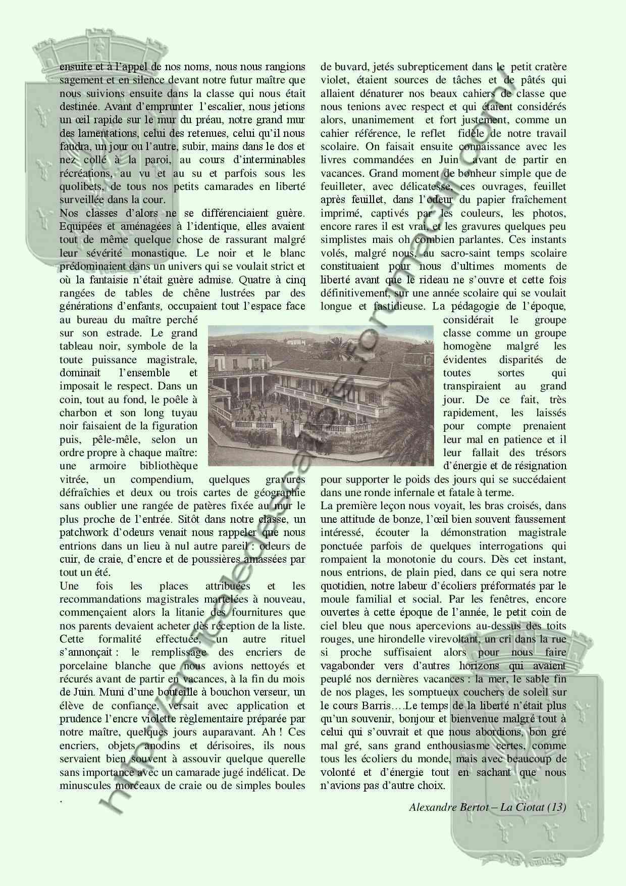 La Rentrée des classes - PC133 -Alexandre Bertot- La_ren11
