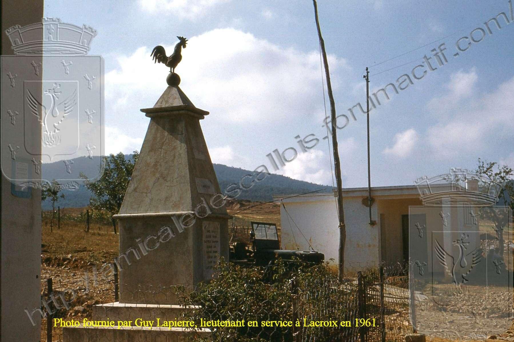 Lacroix - Le monument aux Morts Lacroi17