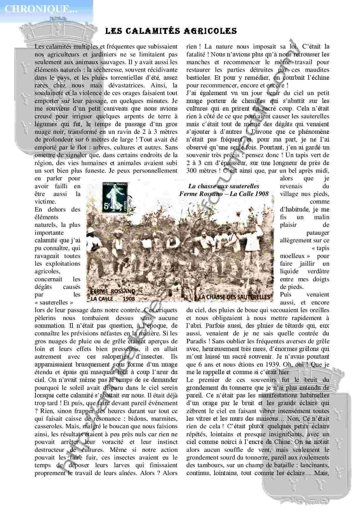 Les calmités agricoles par Marc Patalano extrait du PC138 Les_ca11