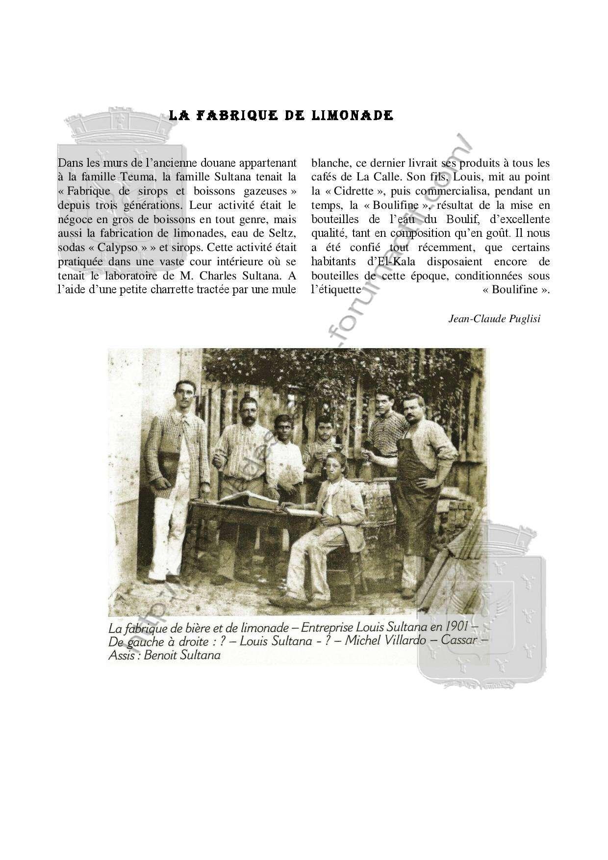 La Fabrique de limonade-Vie économique-Jean Claude PUGLISI -Livre- Livre-13
