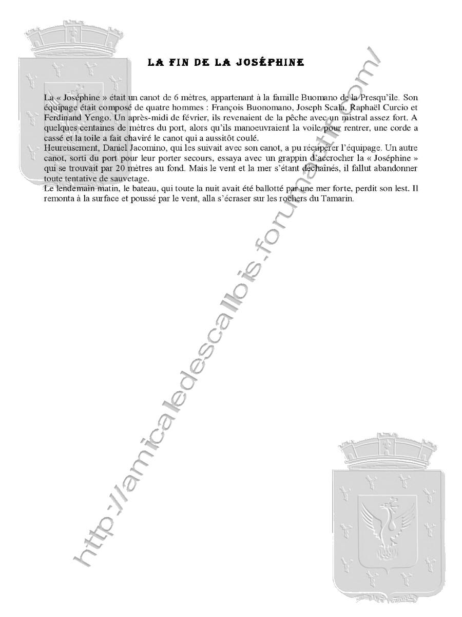 Naufrage La fin de la Joséphine Naufra14