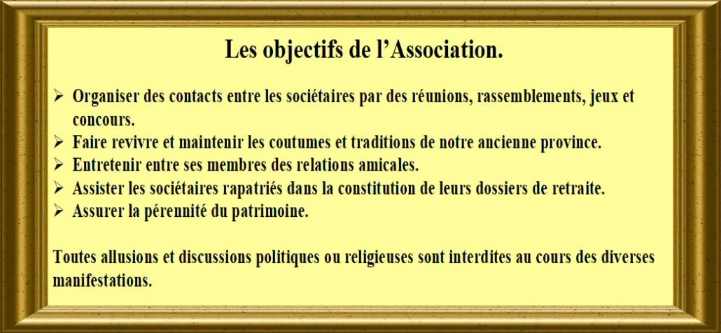 Les objectifs de l'association Object11