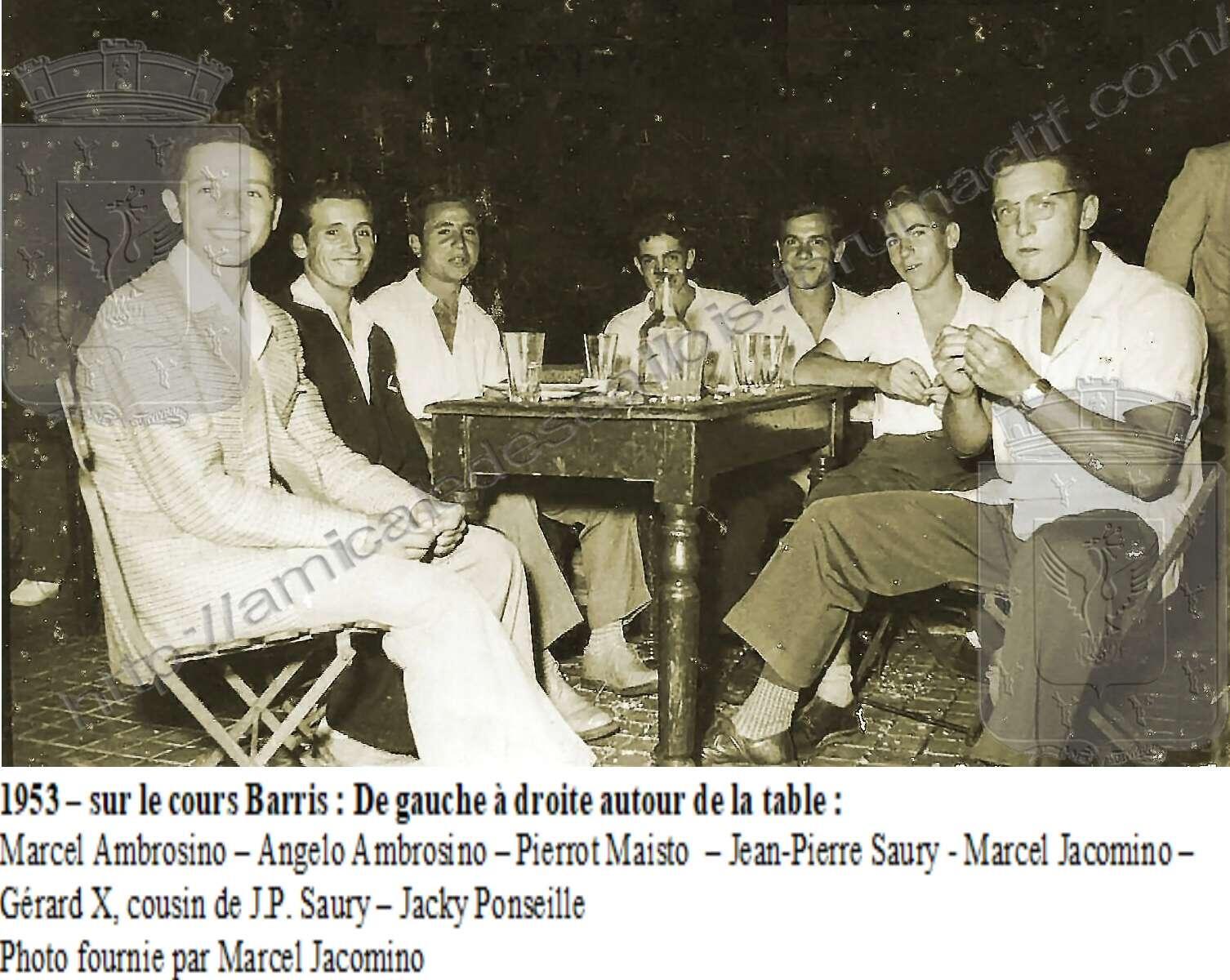 1953 – sur le cours Barris - PC 131 Pc_13110
