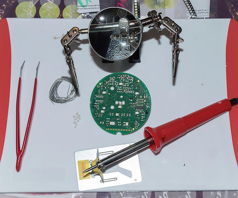 électra glide en préparation  Compte13