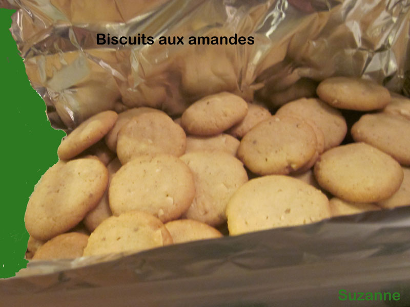 Biscuits ''petits fours'' aux amandes Biscui10