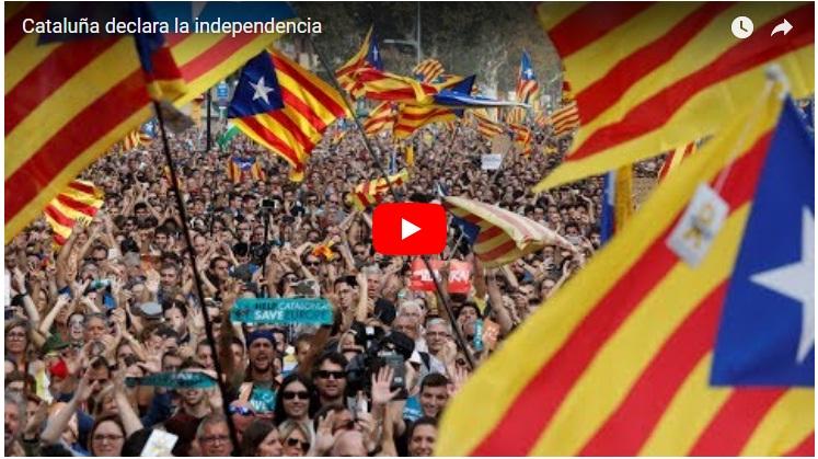 Parlament de Cataluña declara la independencia de España Catalu10