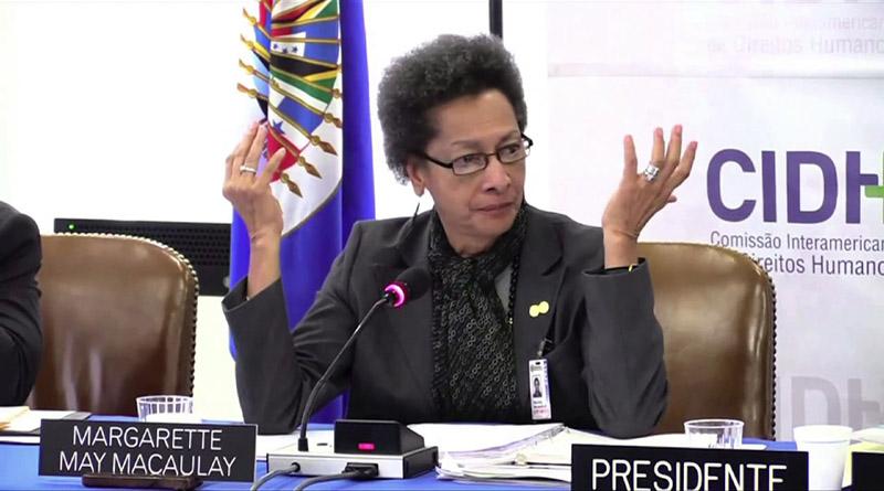 Margaret May nueva presidente de la CIDH Margar10