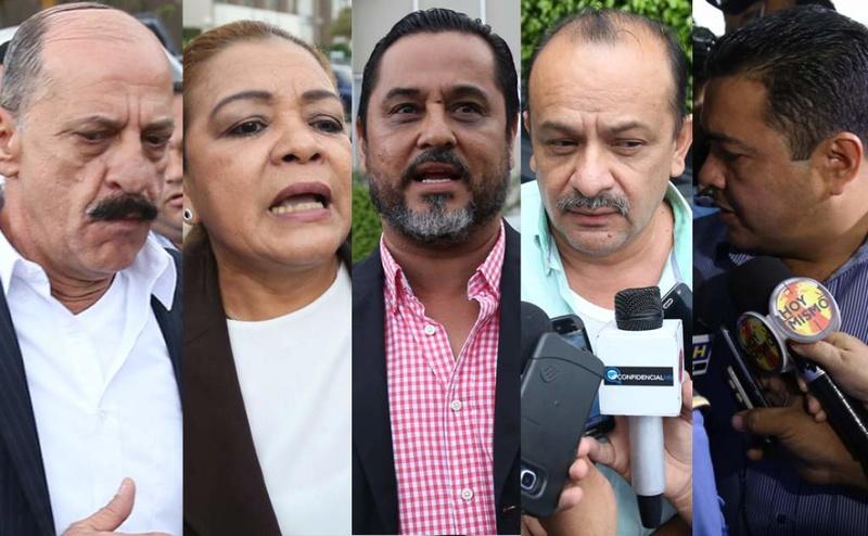 """No sus actos, sino la MACCIH, los desprestigio dicen miembros de la """"Red de diputados"""" Red-de10"""