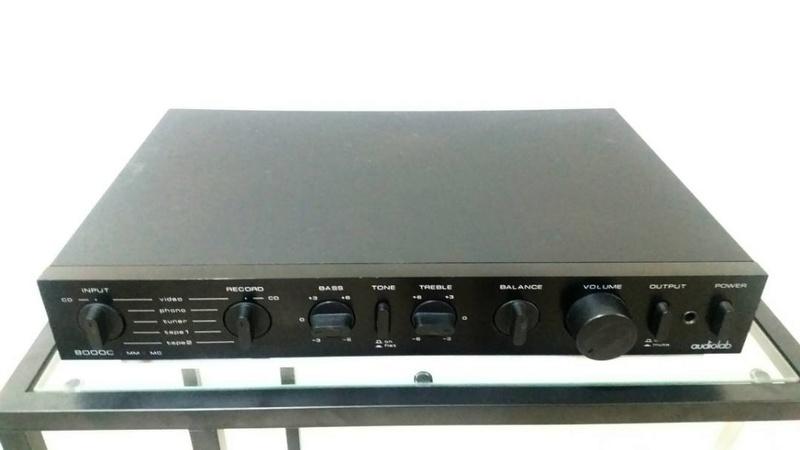 Audiolab 8000C Preamplifier Audiol10
