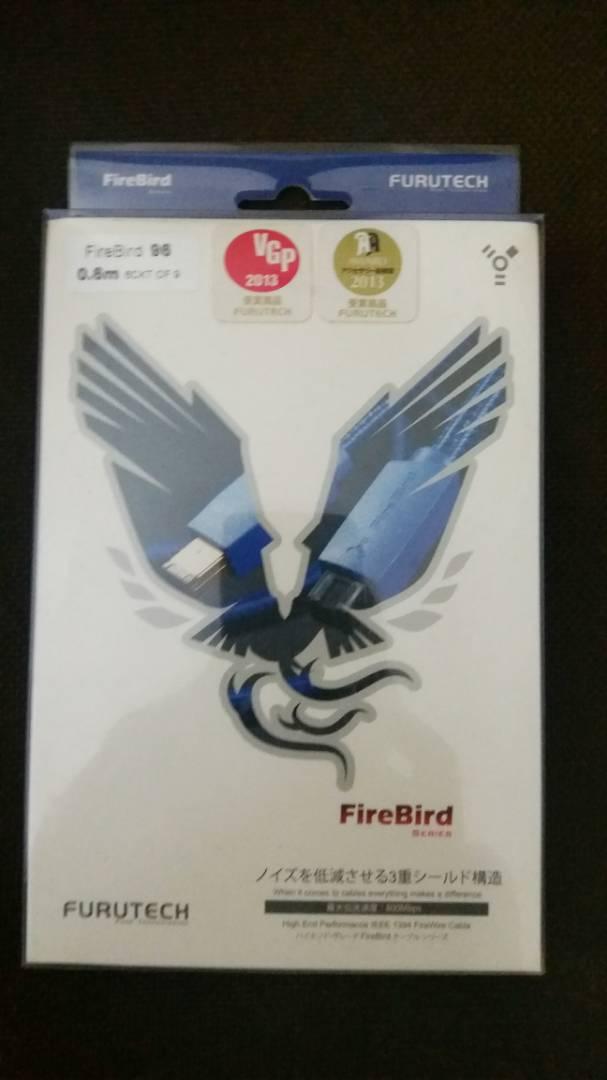FURUTECH FireBird-96 ( 9pin-6pin ) IEEE1394 Fire Wire Cable 0.6m  Furute12