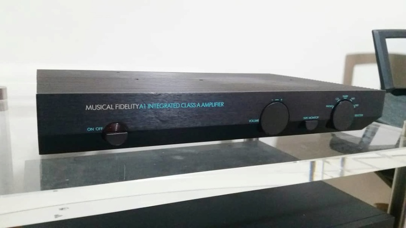 Musical Fidelity A1 Integrated Class A Amplifier Mf110