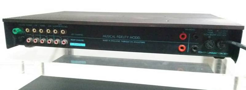 Musical Fidelity A1 Integrated Class A Amplifier Mf210