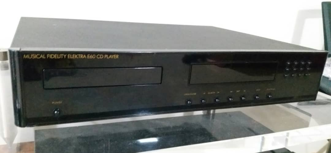 Musical Fidelity Elektra E60 CD Player Musica13