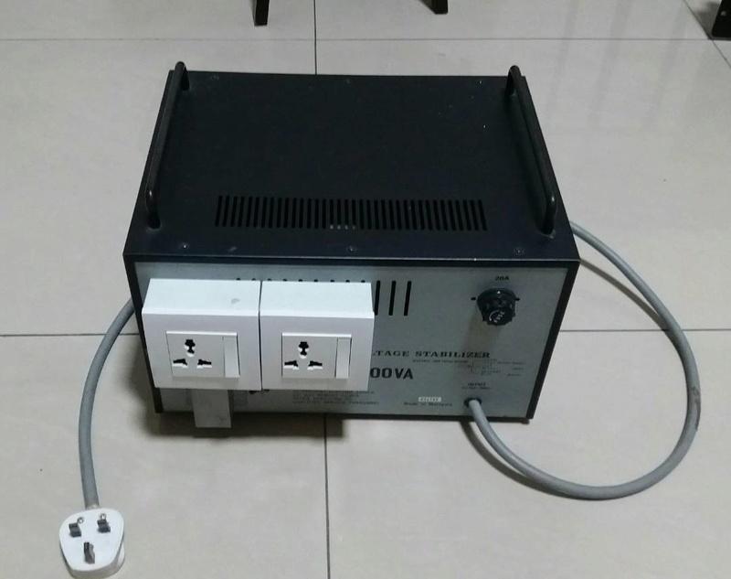 Power voltage stabilizer 3.5KVA Power_10