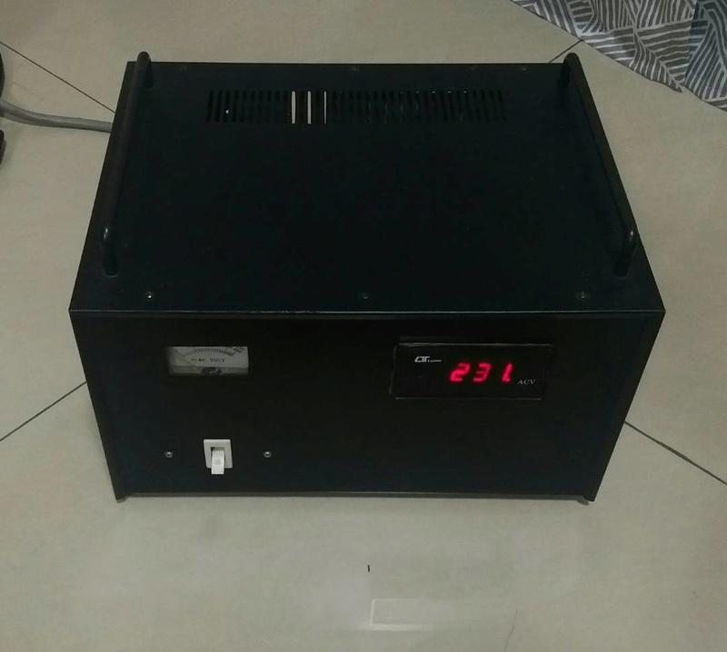 Power voltage stabilizer 3.5KVA Power_11