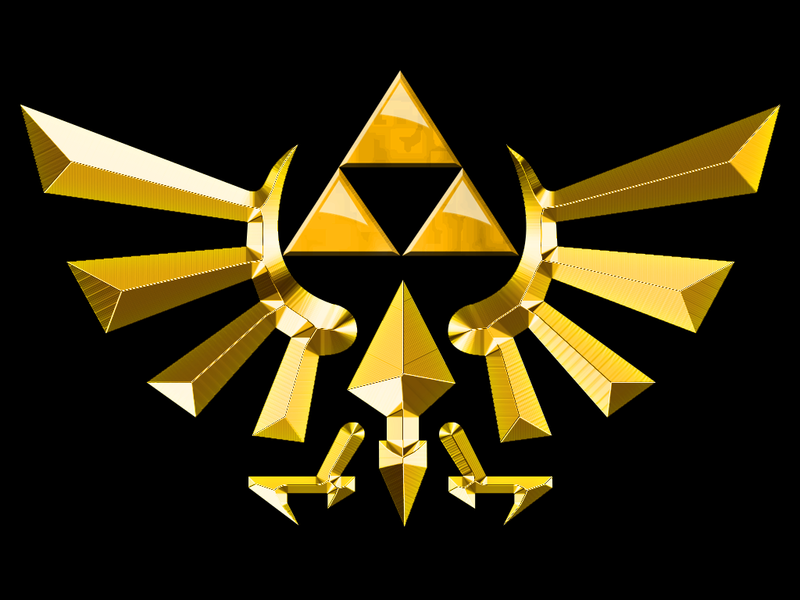 "[Création] Châle ""The Legend of Zelda"" Trifor10"