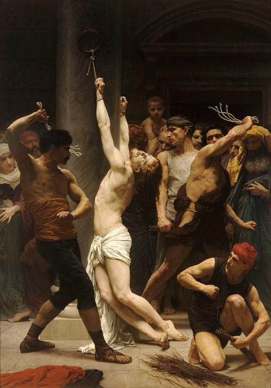 JESUS RAILLE PAR LES SOLDATS (Edouard MANET) 537px-10