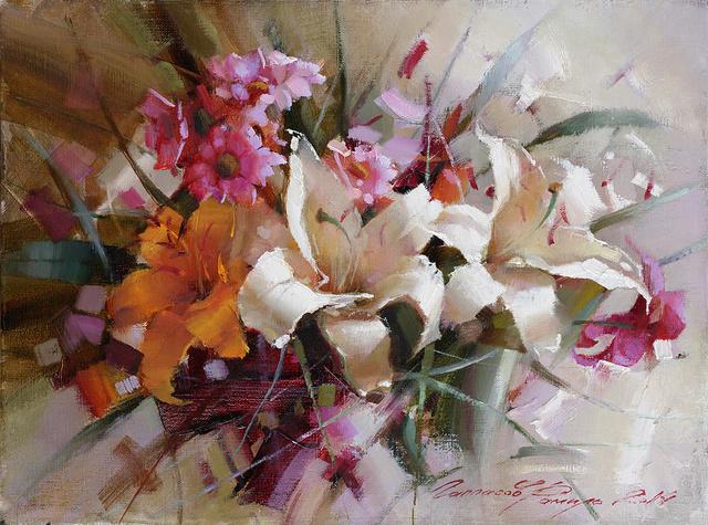 LES PEINTRES RUSSES Lilies10