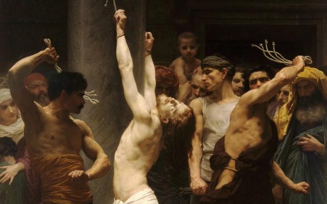 JESUS RAILLE PAR LES SOLDATS (Edouard MANET) The-fl10