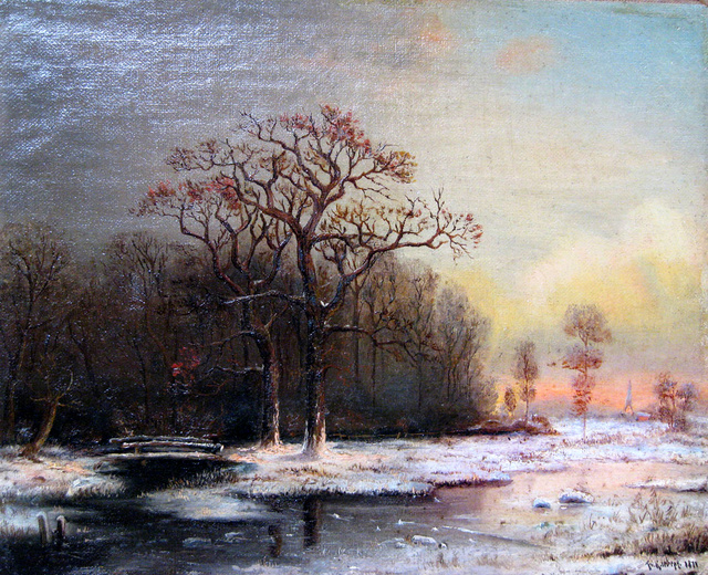 LES PEINTRES RUSSES Winter10
