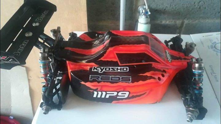 Kyosho MP9 TKI3 brushless 110