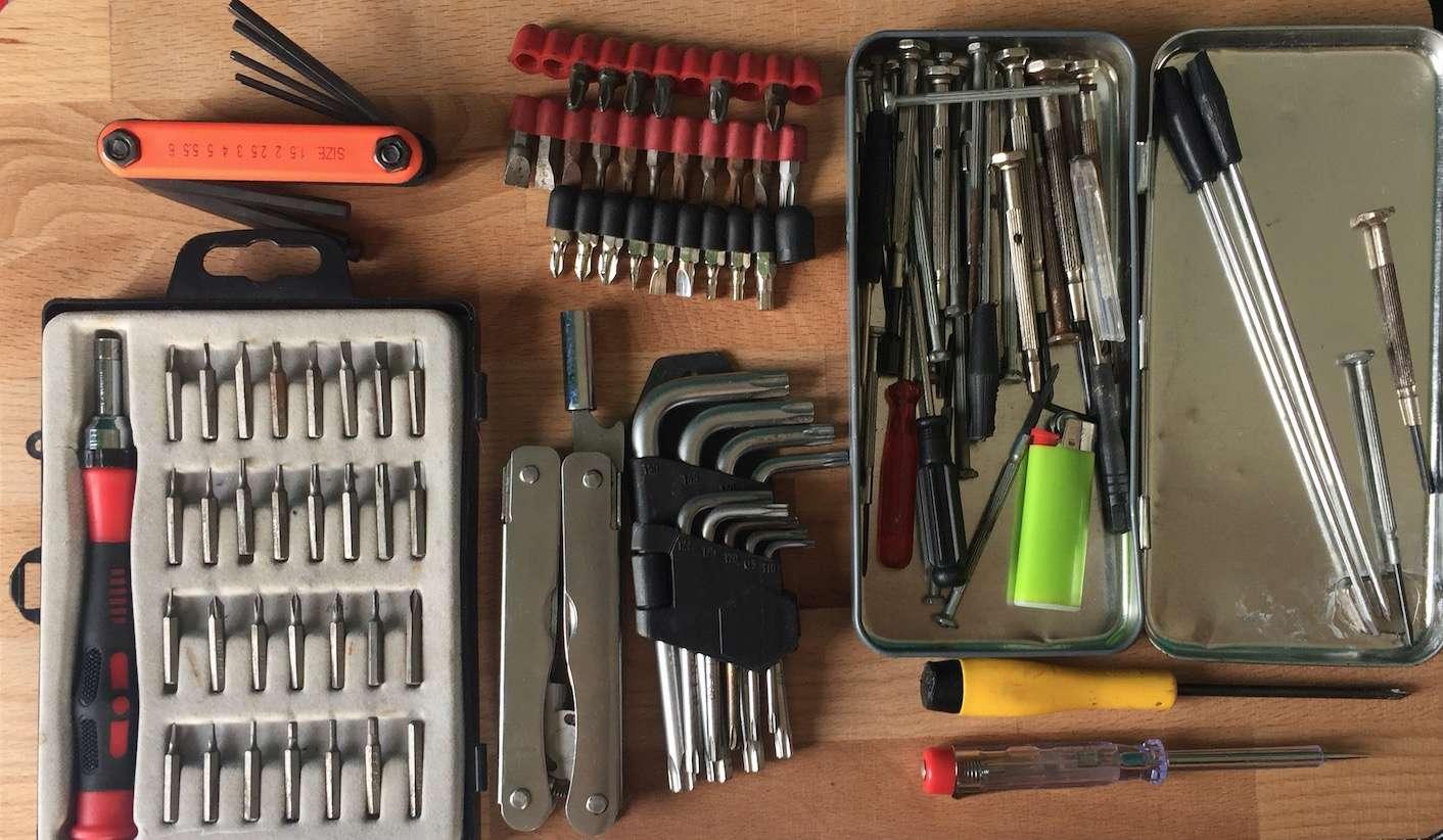 EDC Réparation électronique : Liste de matériel pour un repair café / pour un atelier post-cata Captu128