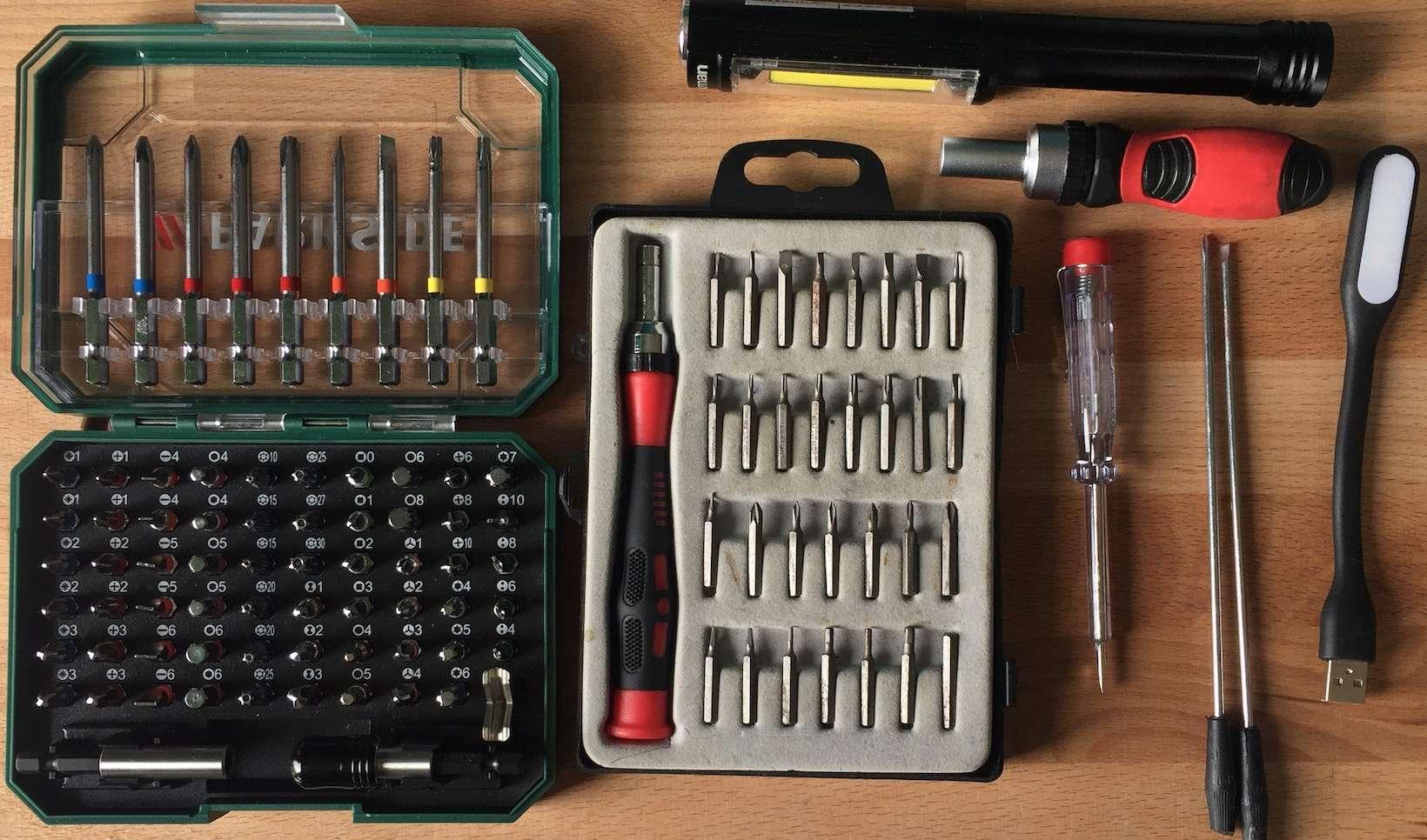 EDC Réparation électronique : Liste de matériel pour un repair café / pour un atelier post-cata Captu130