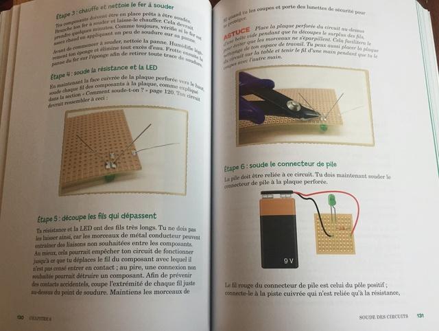 L'électronique pour les KIDS : un livre pour petits et grands Captur77