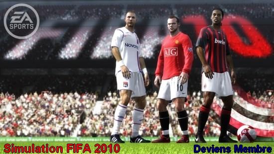Simulation FIFA 2010
