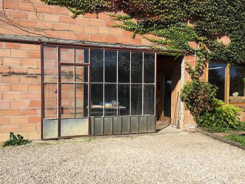 Extension de mon atelier. Les portes de la façade Img_4535