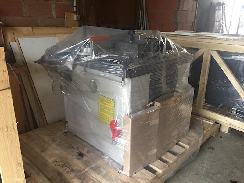 Elles sont arrivées, les nouvelles machines ! Img_4913